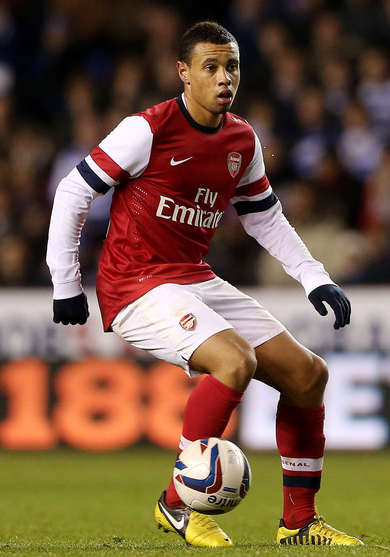 Coquelin has played 38 times for the Arsenal first-team since making his debut in 2008.