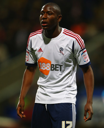Afobe made his 19th appearance for Bolton today.