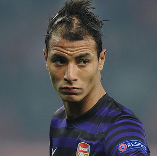 Chamakh has made just four senior appearances for Arsenal this season