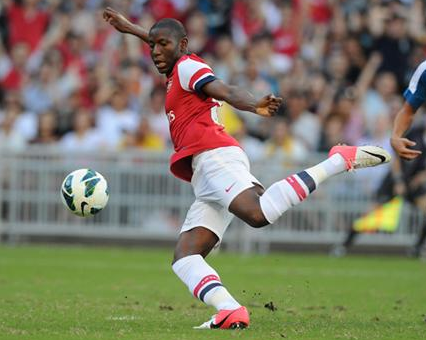 Afobe, who recently returned from a loan spell with Bolton Wanderers, has been allocated the number 51 shirt.