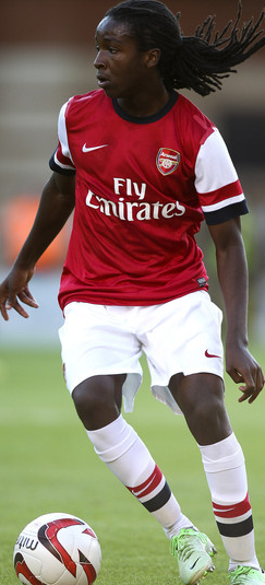 Tafari Moore's return from injury was one of the few plus points for Arsenal  (Ben Hoskins/Getty Images Europe)