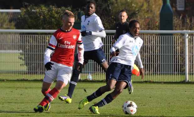 Smith in action against Tottenham earlier this season