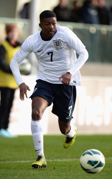 Maitland-Niles has been capped by England at U17 level. Picture: Getty Images.
