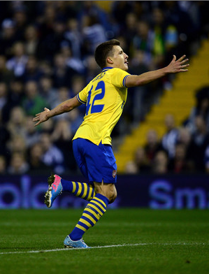 Eisfeld scored for the first-team against West Brom in the Capital One Cup, but hasn't been involved with the senior team since then.