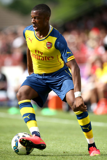 Jordan Mansfield/Getty Images Europe Akpom's goal was his 20th for Arsenal at U21 level in 31 appearances