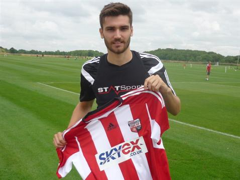 Toral is still waiting to make his Brentford debut
