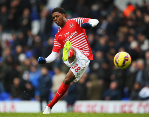 (Zimbio.com) Chuba Akpom was a surprise starter for Arsenal, but the young Gunners suffered a disappointing defeat.