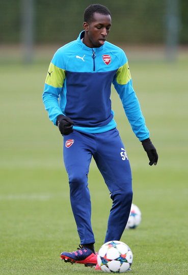 (Zimbio.com) Glen Kamara made his 28th appearance for Arsenal Under 21s