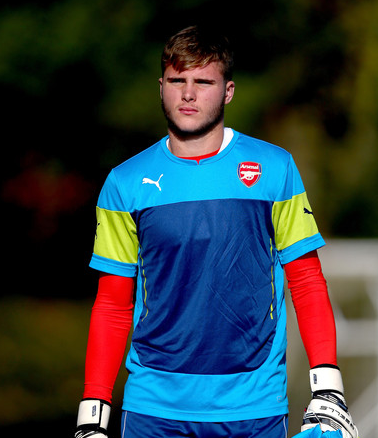 Zimbio.com Ryan Huddart, who kept goal for the U18s today, could be on the bench for the U21s against Brighton & Hove Albion on Monday, with Deyan Iliev suspended.