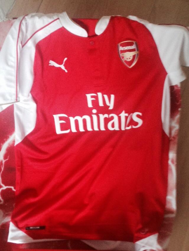 044df01e7 New PUMA Arsenal home shirt | Jeorge Bird's Arsenal Youth