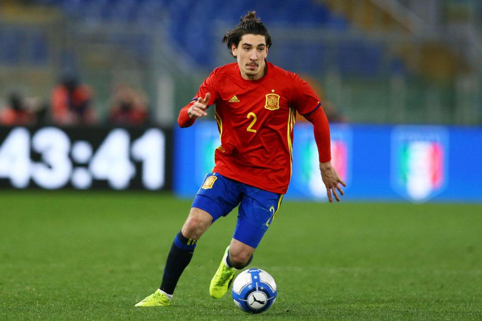 U21 Euros – Disappointment for Bellerin as Spain are ...
