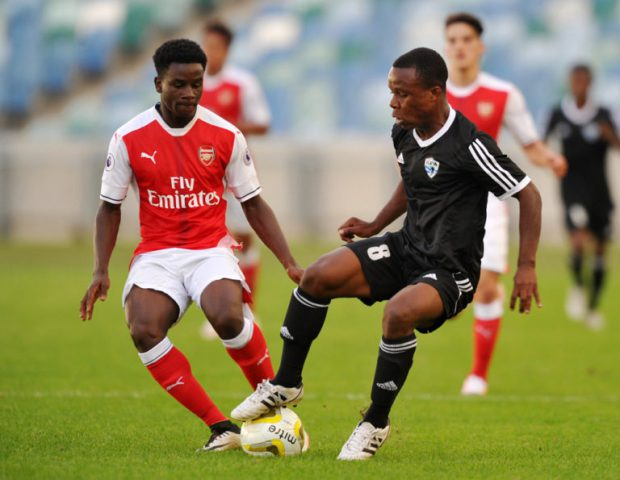 Football - 2016 Durban U19 International - Semifinal - Arsenal v TP Mazembe - Moses Mabhida Stadium