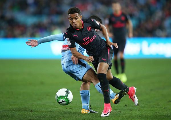 Donyell+Malen+Sydney+FC+v+Arsenal+_gu9h2Q3gshl