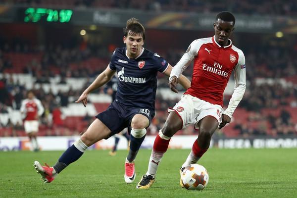 Eddie+Nketiah+Arsenal+FC+v+Crvena+Zvezda+UEFA+GIeNIJP3qq9l