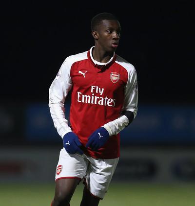 2018-01-15 22_28_26-Eddie Nketiah Photos Photos - Arsenal U23 v Reading U23 - Premier League Interna