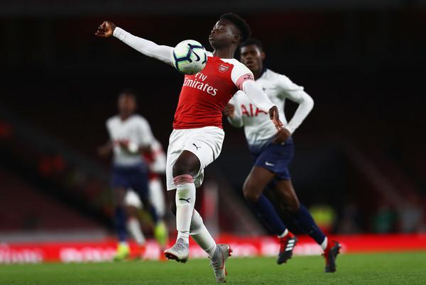 Bukayo+Saka+Arsenal+vs+Tottenham+Hotspur+Premier+8Ap5haE1mo2l