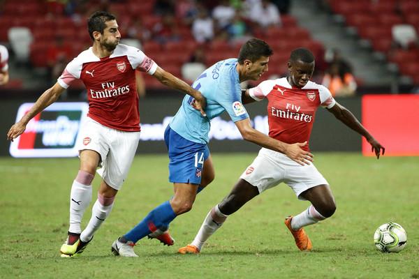 Eddie+Nketiah+Club+Atletico+de+Madrid+v+Arsenal+CRhFdYTOq4Wl